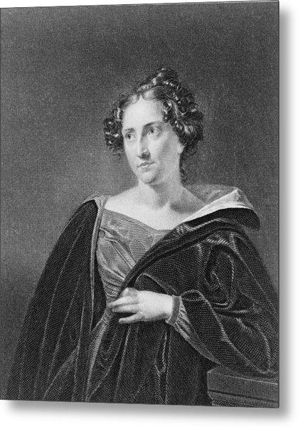 Catharine Maria Sedgwick 1789-1867 Metal Print by Everett