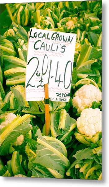Cauliflower Metal Print