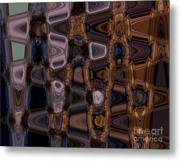 Cave Abstract 5 Metal Print by Tashia Peterman