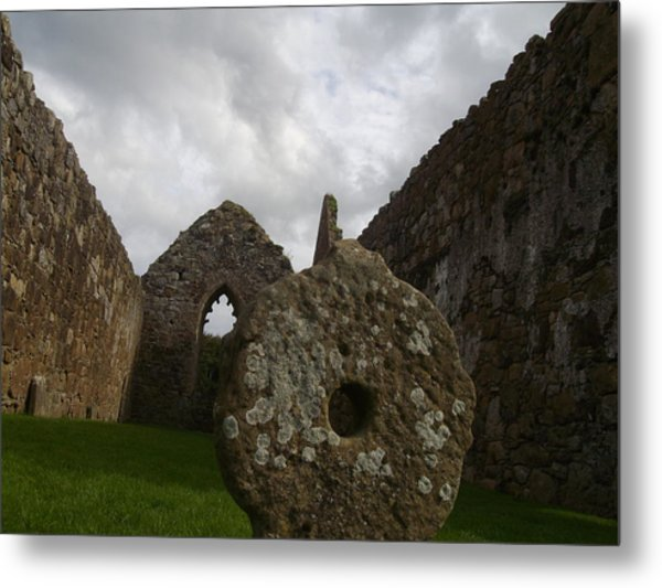 Celtic Cross Metal Print by Paul Chestnutt