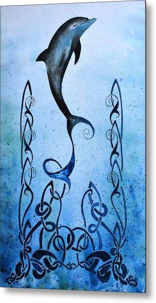 Celtic Water Metal Print