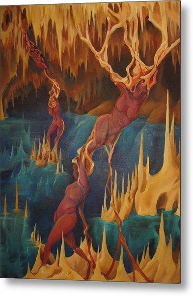 Cenote Metal Print by Allison Kohn