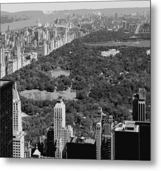 Central Park Bw6 Metal Print