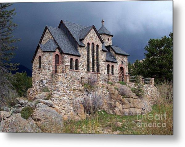 Chapel On The Rocks No. 1 Metal Print