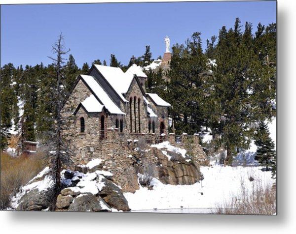 Chapel On The Rocks No. 3 Metal Print