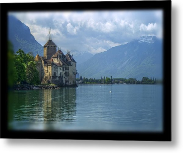 Chateau De Chillon Metal Print by Matthew Green