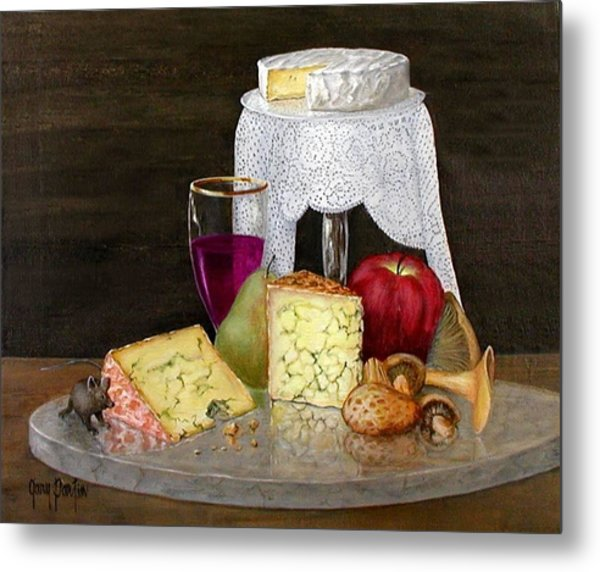 Cheese Delight Metal Print