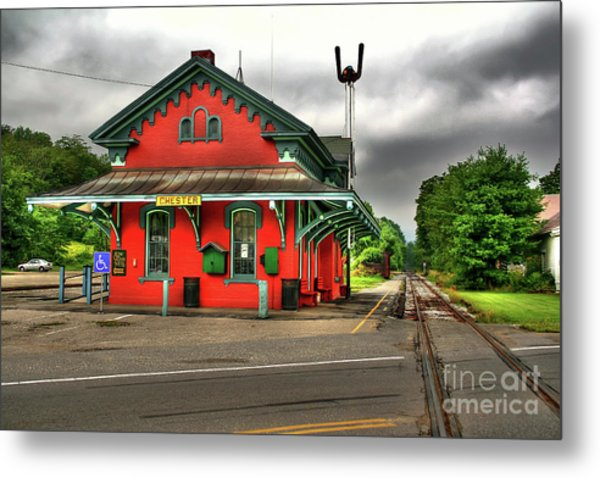 Chester Station Metal Print