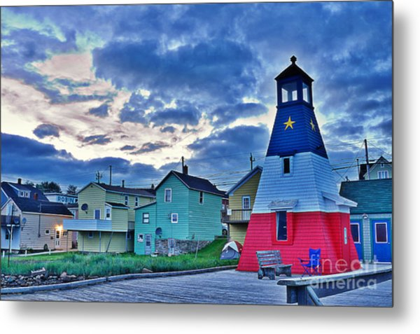 Cheticamp In Cape Breton Nova Scotia Metal Print