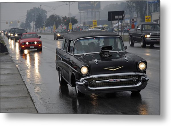 Chevy Nomad Metal Print