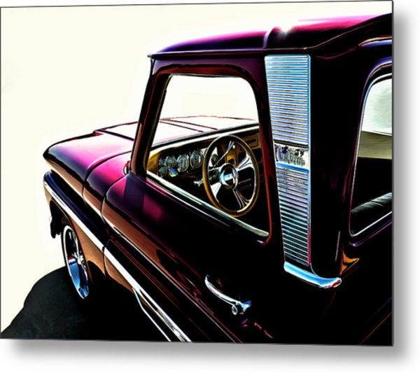 Chevy Pickup Metal Print