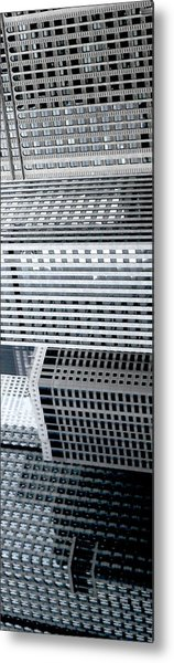 Chicago Impressions 4 Metal Print