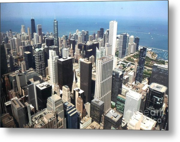 Chicago One Afternoon Metal Print