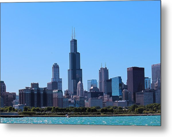 Chicago Skyline Metal Print