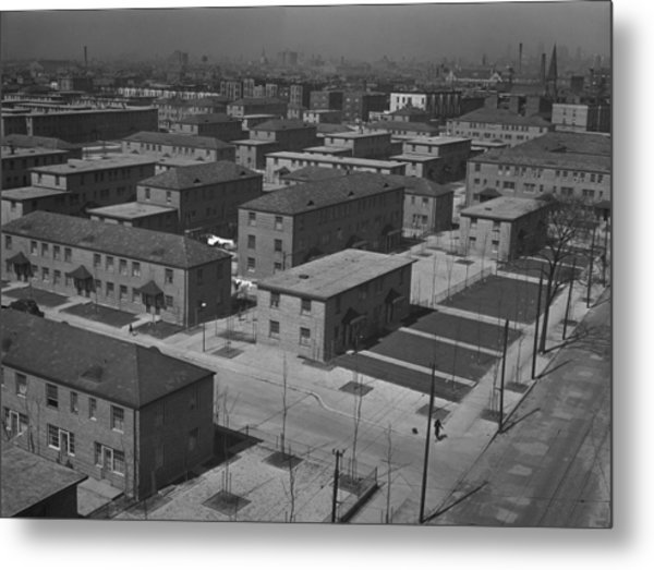 Chicagos Ida B. Wells Housing Project Metal Print