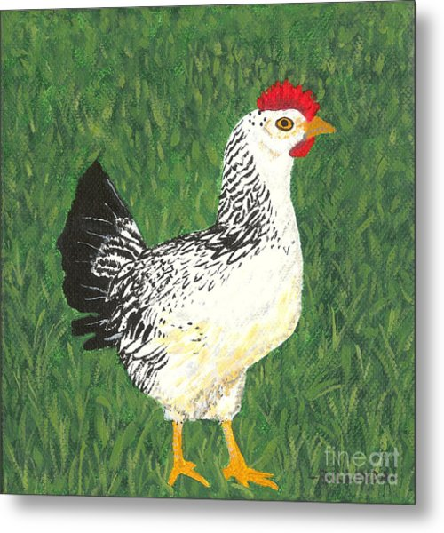 Chicken Metal Print
