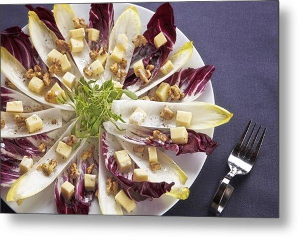 Chicory Salad Metal Print