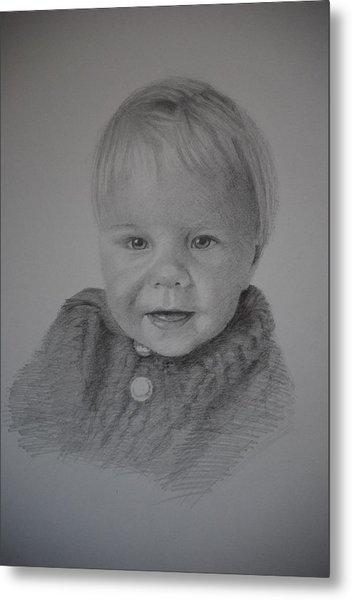 Child Portrait Metal Print