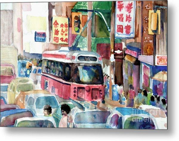 Chinatown Metal Print by Mike N