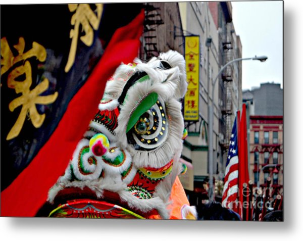 Chinese New Years Nyc  4704 Metal Print