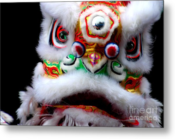 Chinese New Years Nyc 4705 Metal Print