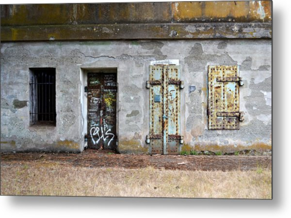 Choose Your Door Metal Print
