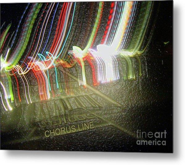 Chorus Line Metal Print