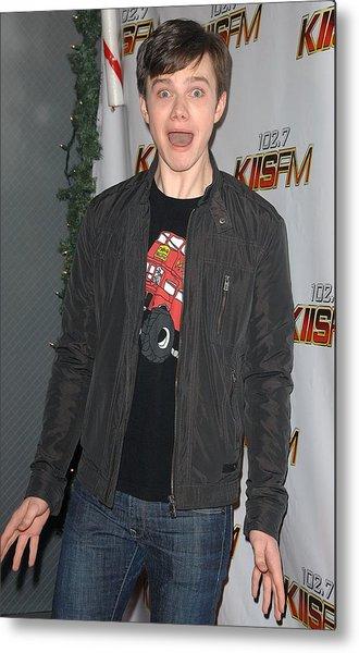 Chris Colfer In Attendance For Kiis Fms Metal Print
