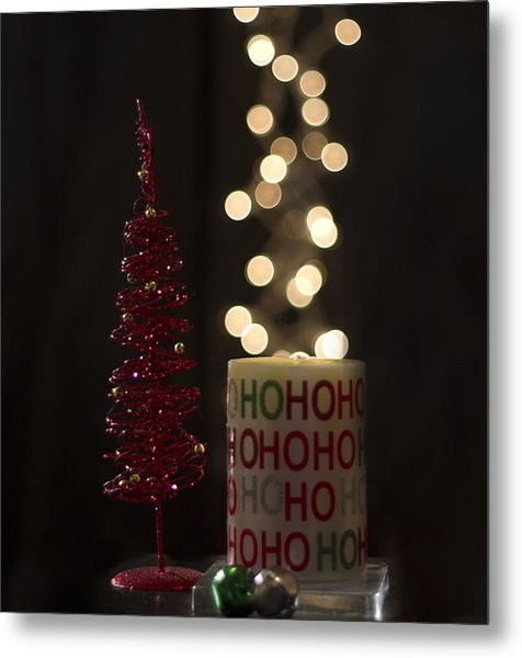 Christmas Still Life Metal Print