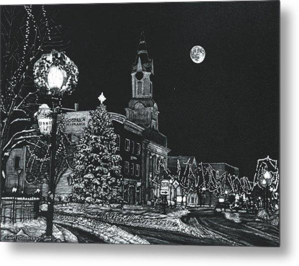 Christmastime Metal Print by Robert Goudreau