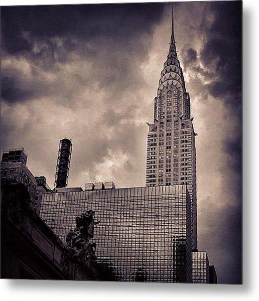 Chrysler Bldg. - New York Metal Print