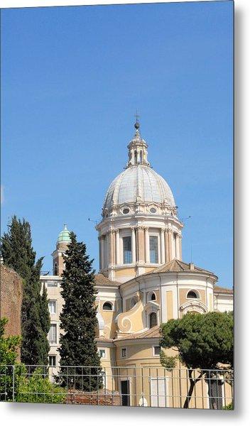 Church In Rome Metal Print by