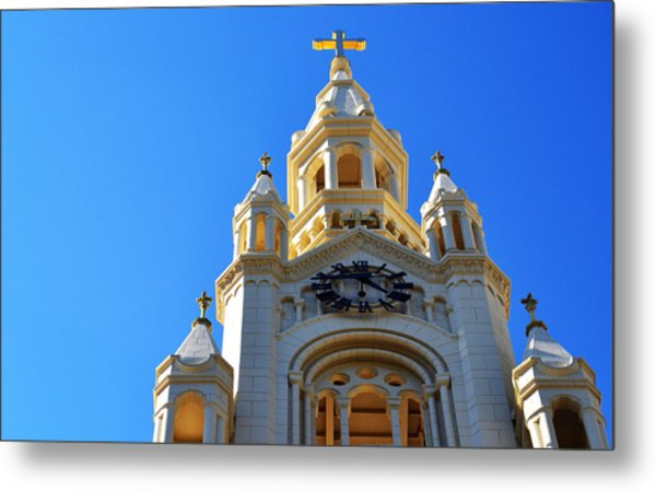 Church Of Light Metal Print
