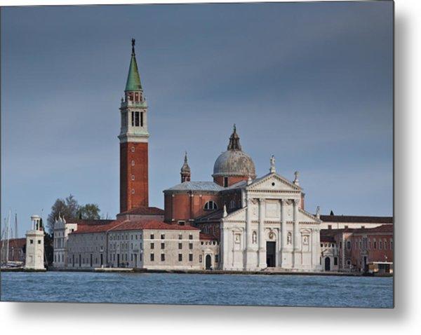 Church Of San Giorgio Maggiore Venice Italy Metal Print