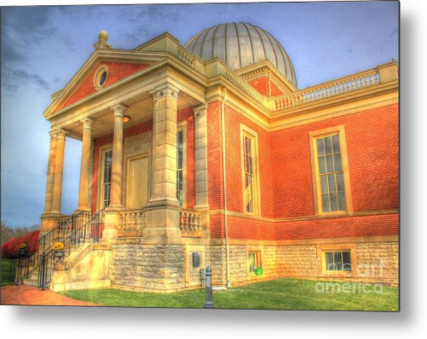 Cincinnati Observatory Up Close Metal Print