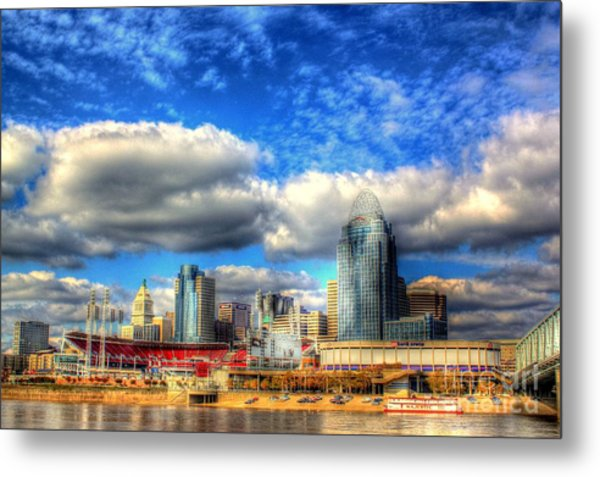 Cincinnati Skyline 2012 - 2 Metal Print