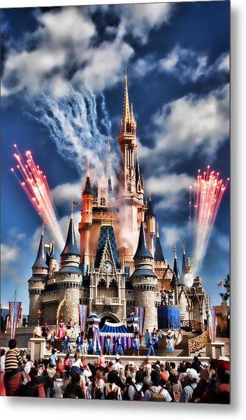 Cinderella's Castle Metal Print