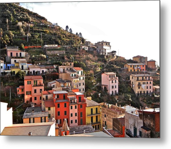 Cinque Terre I Metal Print by David Ritsema