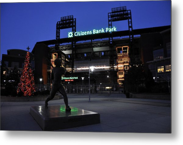 Citizens Bank Park Metal Print by Andrew Dinh