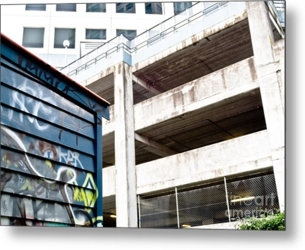 City Decay Metal Print