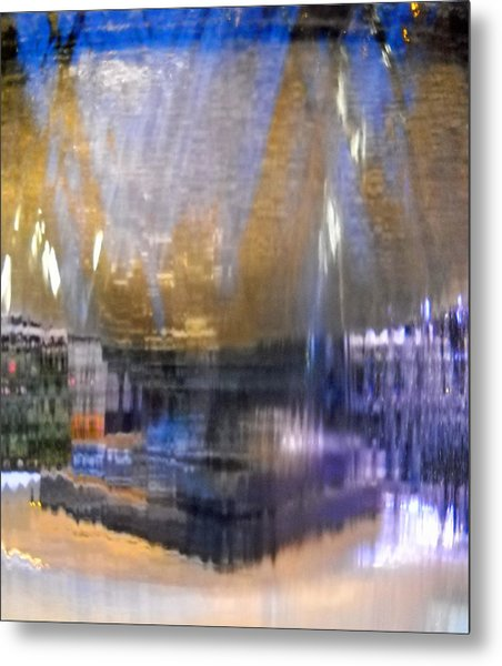 City Fountain  Metal Print by Duwayne Washington