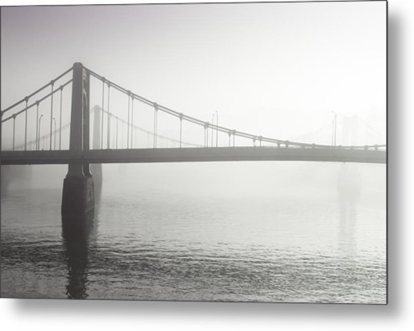City Of Bridges Metal Print by Jason Heckman
