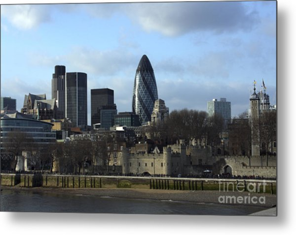 City Of London Metal Print
