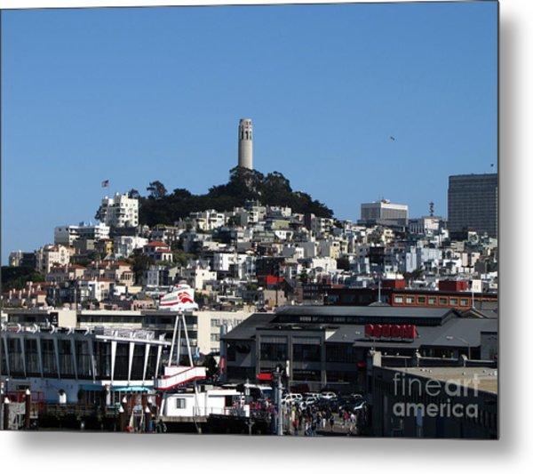 City Of San Francisco Metal Print by Serena Ballard