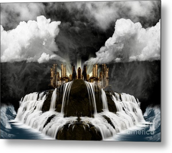 City On The Edge Of Forever Metal Print
