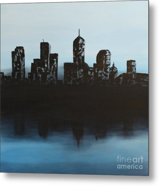 Cityscape One Metal Print