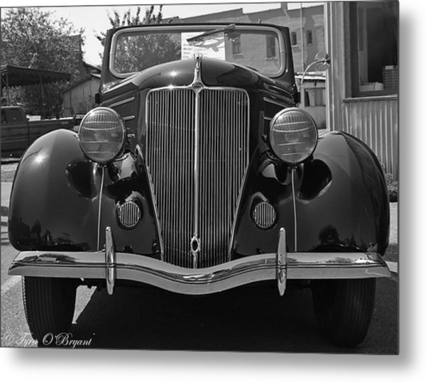 Classic Beauty Metal Print