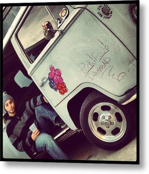 #classic #cars #vw #bus #me #model Metal Print