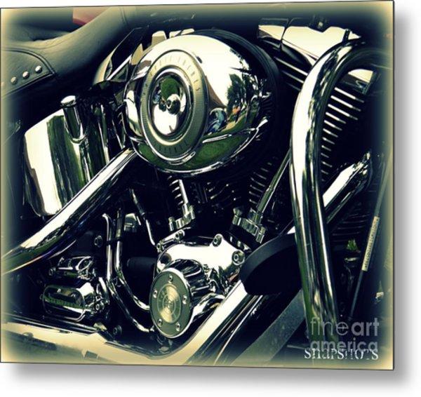 Classic Harley Metal Print by Emily Kelley