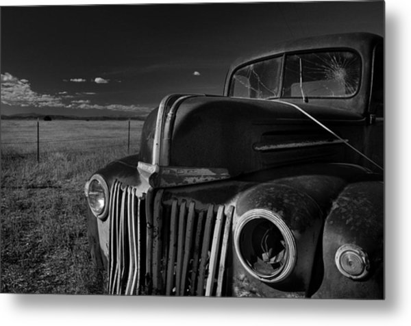 Metal Print featuring the photograph Classic Rust by Ron Cline